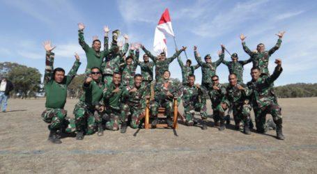 Ke-12 Kalinya, TNI AD Rajai Lomba Tembak AASAM di Australia