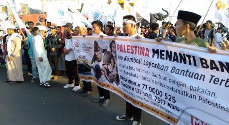 Masyarakat Lampung Gelar Aksi Solidaritas Palestina