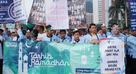 Dompet Dhuafa Adakan Kegiatan Tarhib Ramadhan di Jakarta