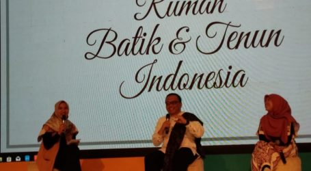 BAZNAS Promosikan Kain Batik dan Tenun Karya Mustahik di Mall