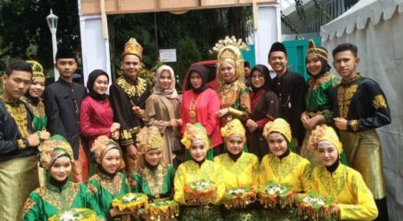 Makanan Khas hingga Tarian Aceh Tampil di Festival Budaya Nusantara IPB