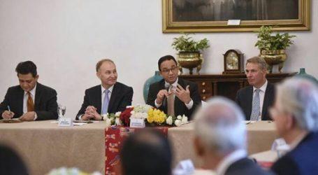 Gubernur Anies Gelar Pertemuan Dengan Dubes 20 Negara Eropa