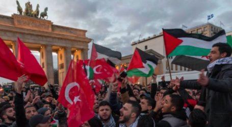 Solidaritas Palestina, Ratusan Warga Arab Pawai di Istanbul