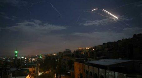 Pertahanan Udara Suriah Cegat Rudal Israel