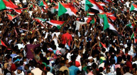 Demonstrasi Besar di Sudan Desak Militer Serahkan Kekuasaan kepada Sipil