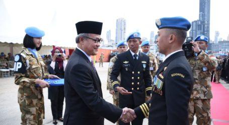 Satgas MTF TNI Konga di Lebanon Terima Penghargaan dari PBB