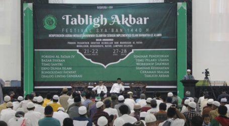 Video Sekilas Rangkaian Acara Tabligh Akbar Jama'ah Muslimin (Hizbullah) 1440 H