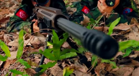 Pertempuran Pemberontak Buddha dan Militer Myanmar Serang Desa Rohingya