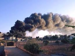Palang Merah: Pemukiman Padat Penduduk di Tripoli Jadi Medan Perang