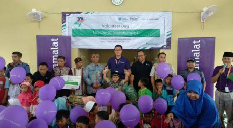 Muamalat Gelar Voluntary Day Ajarkan Literasi Keuangan di Jakarta