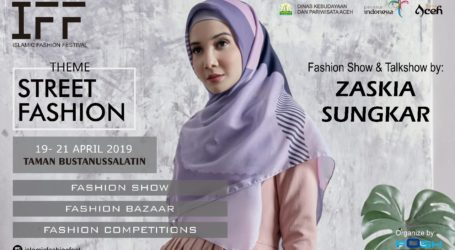 Islamic Fashion Festival 2019 Angkat Potensi Desainer Lokal di Aceh