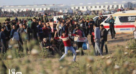 46 Warga Palestina Terluka Saat Aksi Hari Tahanan