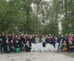 Peringatan Hari Bumi di Pantai Desa Margasari, Lampung