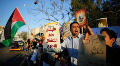 Aksi Solidaritas Tawanan Palestina di Penjara Terus Berlanjut