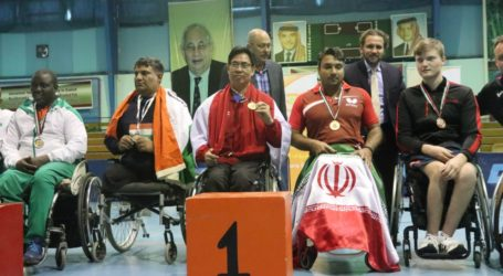 Atlet Indonesia Sabet Medali Emas di Kejuaraan Para Tenis Meja Yordania
