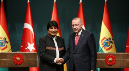 Erdogan Puji Dukungan Bolivia Untuk Palestina