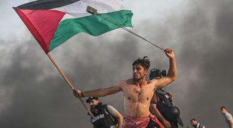 Aed Abu Amro Jadi Simbol Perlawanan Great March of Return