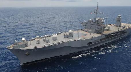 Kapal Perang Pemandu Armada Ke-7 AS Berlabuh di Tanjung Priok