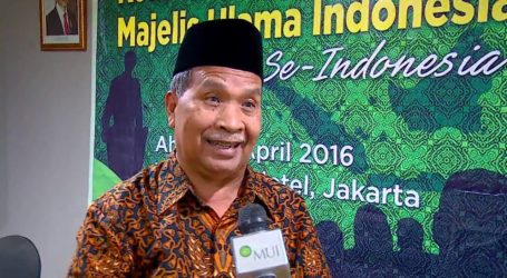 MUI: Umat Islam Indonesia Harus Tampil Sebagai Juru Damai di Dunia