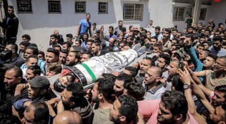 Zionis Israel Serang Gaza, Berikut Nama 5 Orang Palestina yang Gugur