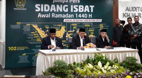 Pemerintah Tetapkan 1 Ramadhan 1440 H Jatuh Pada Senin 6 Mei 2019