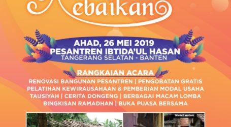 RISKA Akan Selenggarakan Anjangsana Sosial Ramadhan 1440 H