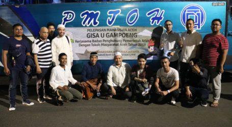 Mahasiswa Aceh Mudik Gratis