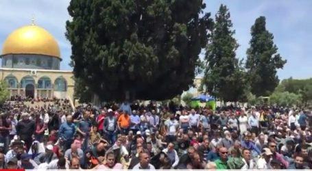 Ratusan Orang Unjuk Rasa di London Dukung Palestina