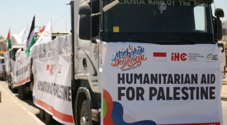 ACT Kembali Kirim 250 Ton Pangan ke Gaza