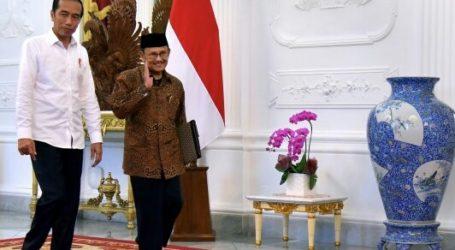 Habibie Temui Jokowi