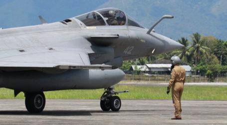 Seluruh Pesawat Tempur Milik Perancis Tinggalkan Aceh