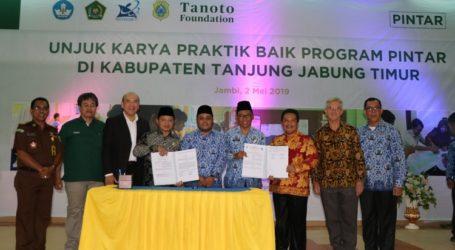 Tanjung Jabung Timur Kabupaten Pertama Resmikan Penyebarluasan Program PINTAR