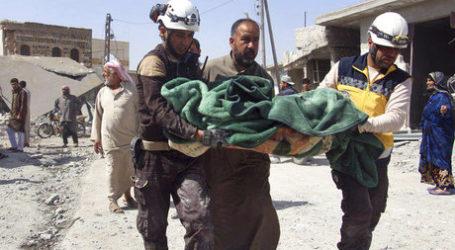Lebih dari 150.000 Warga Mengungsi di Idlib dan Aleppo dalam Sepekan