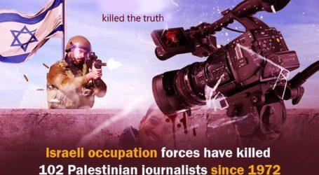 Israel Serang dan Tutup Kantor Media Palestina