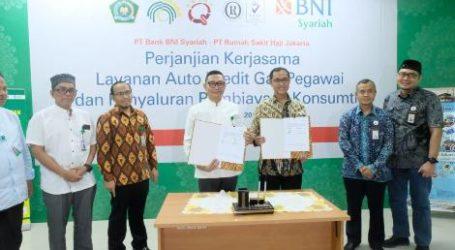 BNI Syariah Kerja Sama RS Haji Jakarta Terkait Pembiayaan dan Payroll
