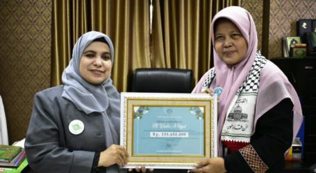 Wanita Al-Irsyad Beri Bantuan untuk Palestina