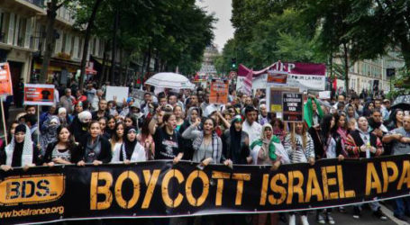 Jaringan LSM Palestina Serukan Jerman Cabut Keputusan Tentang Gerakan Boikot Israel