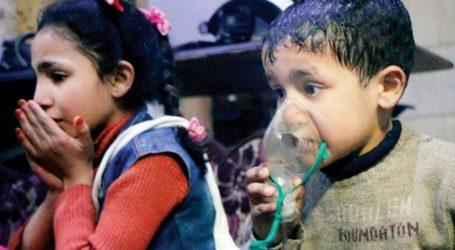 AS Curigai Suriah Lakukan Serangan dengan Senjata Kimia