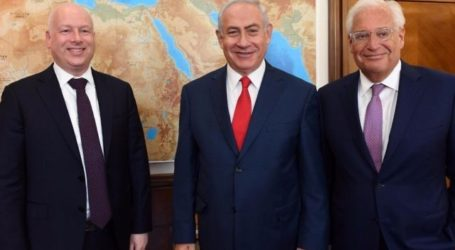 "Utusan AS Greenblatt Dukung Dubes Friedman terkait ""Israel Sah Aneksasi Tepi Barat"""