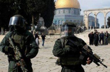 Israel Usir Paksa Jamaah Palestina dari Al-Aqsa