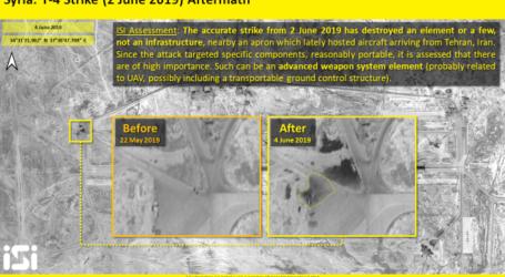 Perusahaan Intel Israel: Serangan IDF di Pangkalan Suriah Targetkan Drone Iran