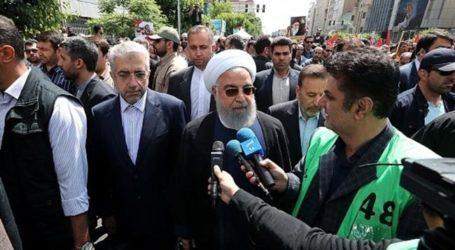"""Hari Al-Quds Internasional: Jutaan Warga Iran Kutuk """"Kesepakatan Abad Ini"""""""
