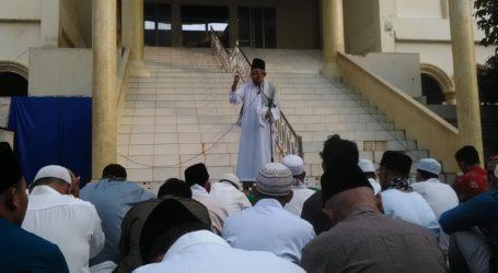 Ponpes Suffah Hizbullah Cileungsi Laksanakan Shalat Ied