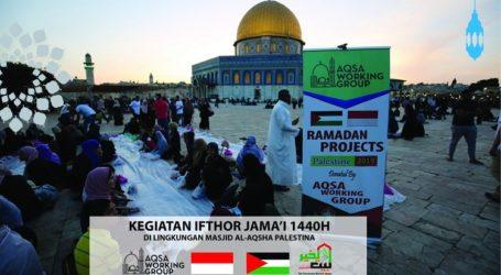 Palestina Apresiasi Program Ramadhan AWG di Gaza dan Al-Aqsha