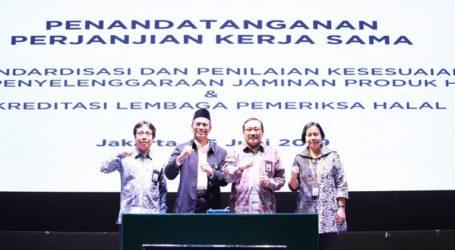 Kerjasama Standardisasi Halal antara BPJPH dengan BSN dan KAN
