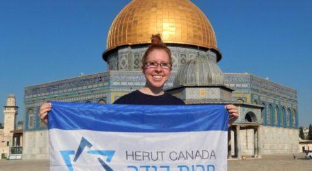 Wanita Yahudi Asal Kanada Picu Kemarahan Setelah Foto di Al-Aqsha