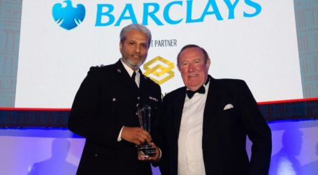 Inspektur Polisi Muslim Inggris Raih Arabian Business London Awards