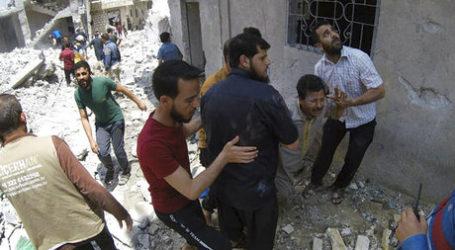 Serangan Pasukan Pemerintah Suriah Bunuh 25 Orang di Idlib