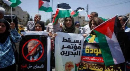Kampanye Twitter Jalur Gaza Tolak Konferensi Bahrain