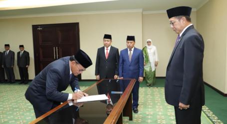 Menag Lantik Komaruddin Hidayat Jadi Rektor UIII